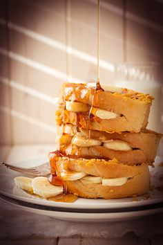 Banana Stuffed French Toast @Jaclyn {Cooking Classy}