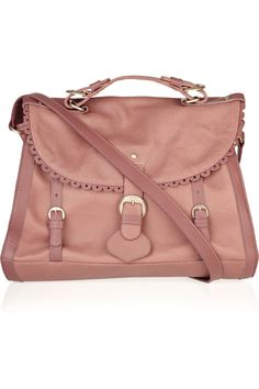See By Chloé Poya Leather Satchel in Pink (blush)