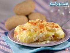 La parmigiana di patate in bianco è un ottimo secondo piatto, il cui ingrediente principale sono le patate, che non mancano mai a casa mia!