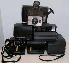 Polaroid Close Up 600 Spectra 2 Minute Maker Ultra Lot of 6 Instant Film Cameras #Polaroid