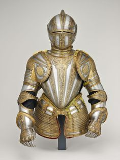 Northern Italian, Milan  Half Armor for Foot Tourney at the Barriers, 1575/80