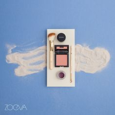 A touch of maritime freshness featuring our Bamboo Vol. 2 brushes, Shy Beauty Luxe Color Blush and Magic Moment Cream Eye Liner.  www.zoeva.de