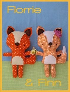 """""""Florrie & Finn"""" designed by Fiona Tully for Two Brown Birds."""