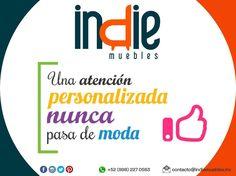 Una atención personalizada nunca pasa de moda. Te esperamos! #indiemuebles #muebles #persianas #calidad #buenservicio #compromiso #cancun #rivieramaya #tulum #mexico