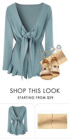 """evening beach star"" by ele88na ❤ liked on Polyvore featuring Glamorous, Nina Ricci and Steve Madden"