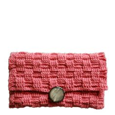 Crochet pattern for a clutch in Danish | Yarnfreak