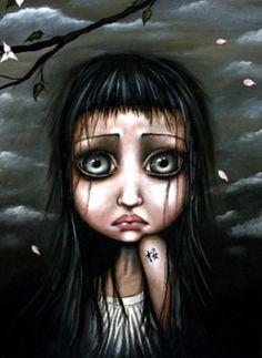Limited Edition Prints Gallery - The online home of the artwork of Angelina Wrona on imgfave Find Art, Dark Artwork, Gothic Artwork, Sakura, Pop Surrealism, Canadian Artists, Limited Edition Prints, Amazing Art, Fantasy Art