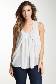 Draped Tank - I can sew that.