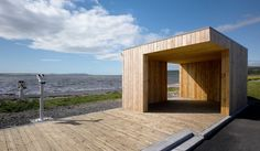 Cantilevered Pavilion - Picture gallery #architecture #interiordesign #wood #pavilion
