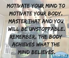 NYC Stem Cells is under construction Fitness Inspiration Quotes, Fitness Quotes, Health Facts, Health Quotes, Health Tips, Fit Board Workouts, Fun Workouts, Positive Words, Positive Quotes