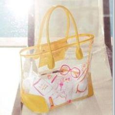 Beach bag Clear beach bag, brand new dsw Bags