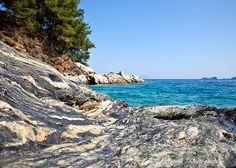 Rocky Shoreline #Photography #Travelphotography #Seascape #Landscape #Thassos #Goldenbeach #Geology #Aegean