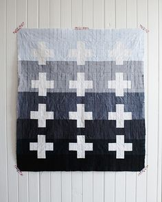 Cross/plus quilt