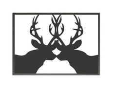 FREE SHIPPING Deers Wall decal In the Wild Wall decal by NouWall