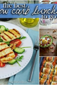 The Best Low Carb Lunches to go