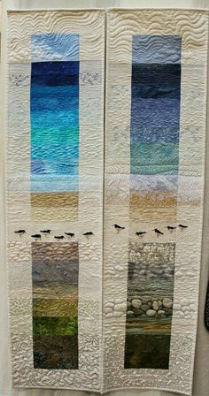 Amazing textural quilting.