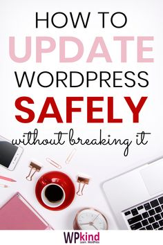 How to update WordPress properly, and why should always keep WordPress up to date to avoid security issues that could break your site. Wordpress For Beginners, Learn Wordpress, Blogging For Beginners, Wordpress Admin, Make Blog, How To Start A Blog, Seo Guide, Dating Blog, Blog Planner
