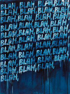 Text-based Artworks by Mel Bochner - JOQUZ