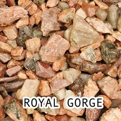 Royal Gorge Stone Decorative Rock - 0.5 cu. ft. at Menards®: Royal Gorge Stone Decorative Rock - 0.5 cu. ft.