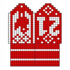 Blogg - Kalendervotter Knitting, Holiday, Patterns, Advent Calenders, Threading, Block Prints, Vacations, Tricot, Breien