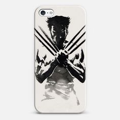 #Wolverine X | #Love! Personalize your #iPhone and #Samsung Galaxy device case using Instagram, Facebook and personal photos on #Casetagram . #cool #comic #xmen #blackandwhite