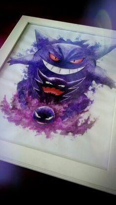 Pokemon watercolors