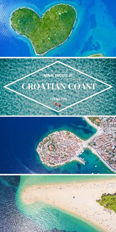 Croatian Coast | Croatian Islands | Croatian Beaches | Aerial Photography