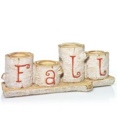 Autumn Nature : Tea Light Candle Holder : Yankee Candle