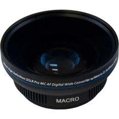 Bower VL558 58MM 0.5X Pro Super Wide Angle Macro Lens - http://slrscameras.everythingreviews.net/8692/bower-vl558-58mm-0-5x-pro-super-wide-angle-macro-lens.html