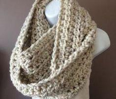 XXL Crochet Infinity Scarf