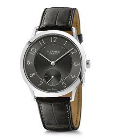 La montre Slim d'Hermès