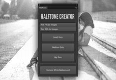 Halftone Creator Photoshop Plugin, download in http://medialoot.com/item/halftone-pattern-creator-photoshop-plugin-free/