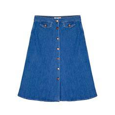 MiH 70s Denim Skirt