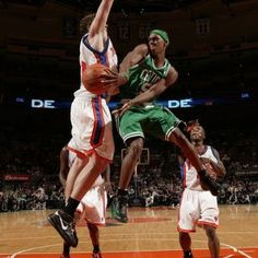 Rajon Rondo vs new york knicks