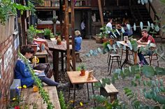 Kazimier Garden, on Seel Street, is a quirky spot for outdoor drinking. Liverpool's best beer gardens - Liverpool Echo