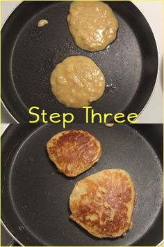 KraftyKay: Flourless Pancakes! Replace with almond butter and egg replacer
