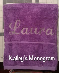 Purple Beach Towel!!