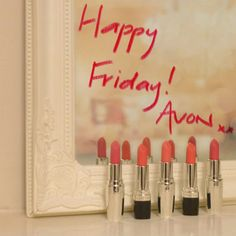"""AVON National Lipstick Sweepstakes Day! *Come find me @ www.youravon.com/jbetzen """"SELL"""" or """"BUY"""" AVON"""