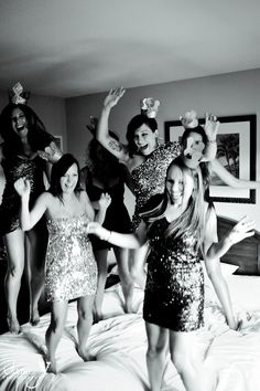Fun pics from a Las Vegas Bachelorette