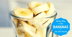 Insomnia got you up? Try taking bananas to sleep tonight. These sleep recipes are the yummiest ways to take your banana sleep aid.