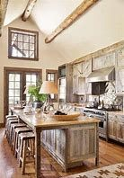 Kitchen rustic design ideas rustic chic kitchen ideas vintage kitchen design with rustic styles home rustic farmhouse kitchen decor ideas Rustic Country Kitchens, Country Kitchen Designs, Rustic Kitchen Decor, Vintage Kitchen, New Kitchen, Kitchen Ideas, Rustic Homes, Rustic Decor, Kitchen Interior