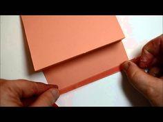 Pop 'n Cuts Gift Card Holder - video tutorial