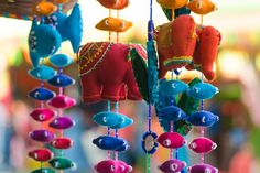 Elephants and Fish #handloom #handicrafts #naturebazaar #dastkar #india #craftsmanship #crafts #textiles #fabrics #sarees #artisans #Bangalore #exhibition #photogallery #photoblog #doorornaments #homedecor