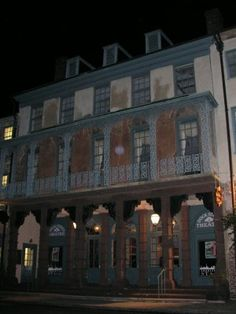 Top 10 Most Haunted Cities in the U.S. - Most Haunted Place: the Dock Street Theater