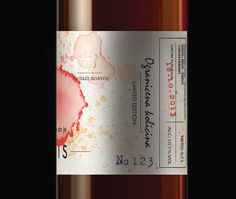 GRATIS Wine Label (Concept) on Packaging of the World - Creative Package Design…