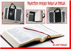 Práctico forro para Boblias.  Holy Bible cover