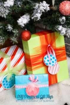 The Elephant of Surprise: The Party Hop: A Handmade Holiday + DIY Gift Wrap Ideas