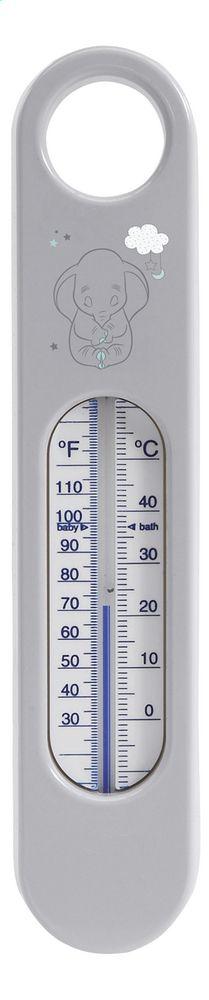 Le petit éléphant Dumbo vous aide à surveiller la température de l'eau du bain de Bébé avec ce thermomètre de bébé-jou.