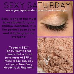 SEXY SATURDAY- Free Product with purchase. Find out how to get free show jewelry with your order!
