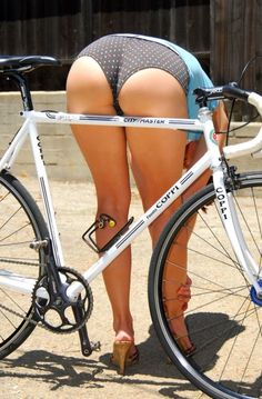 road bike girl
